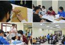 Hào hứng ngày nhập học đợt 1 của tân sinh viên tuyển thẳng K65